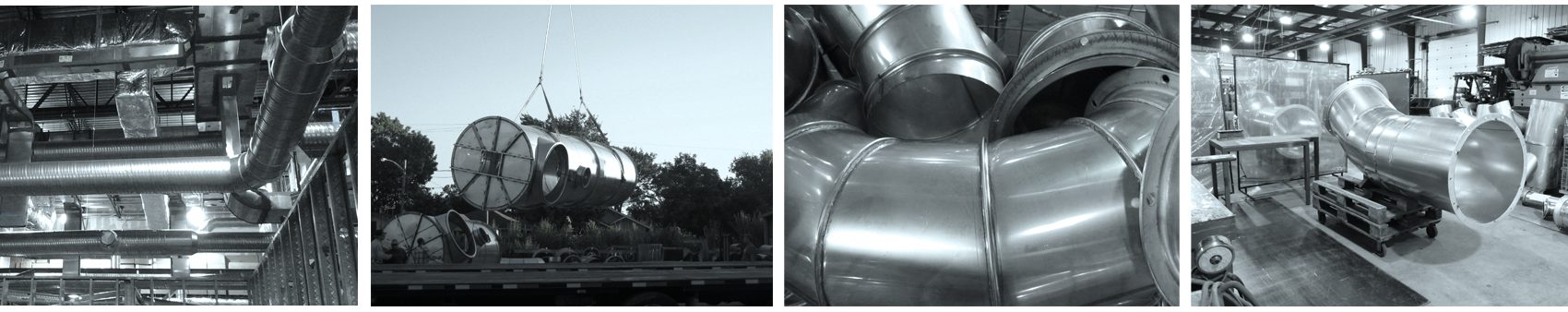 Industrial Construction And Dust Collection Ductwork